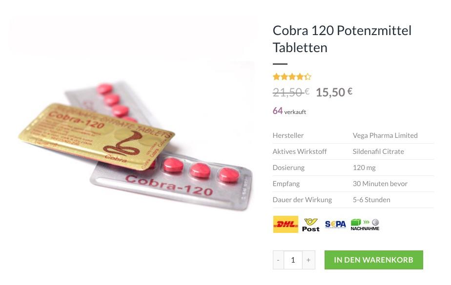 Cobra Potenzmittel